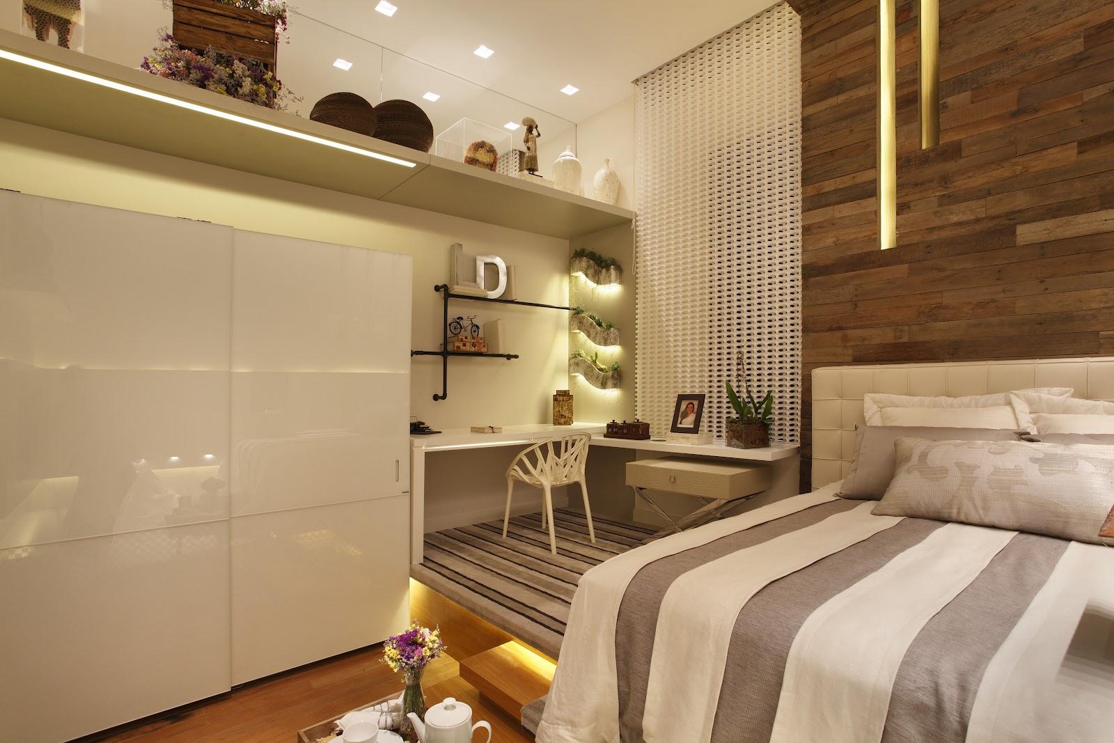 A casa da sheila quartos com home office for Dormitorio 3x5