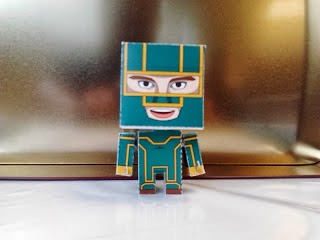 Kick Ass Papercraft - Mini Paper Toy-1