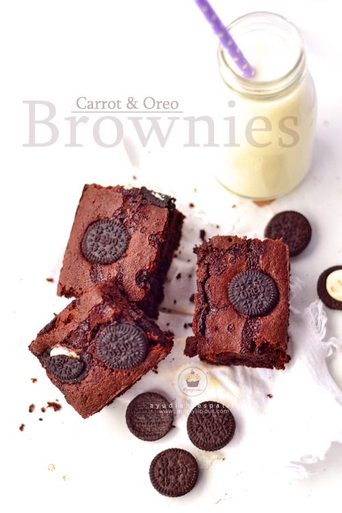 Carrot & Oreo Brownies