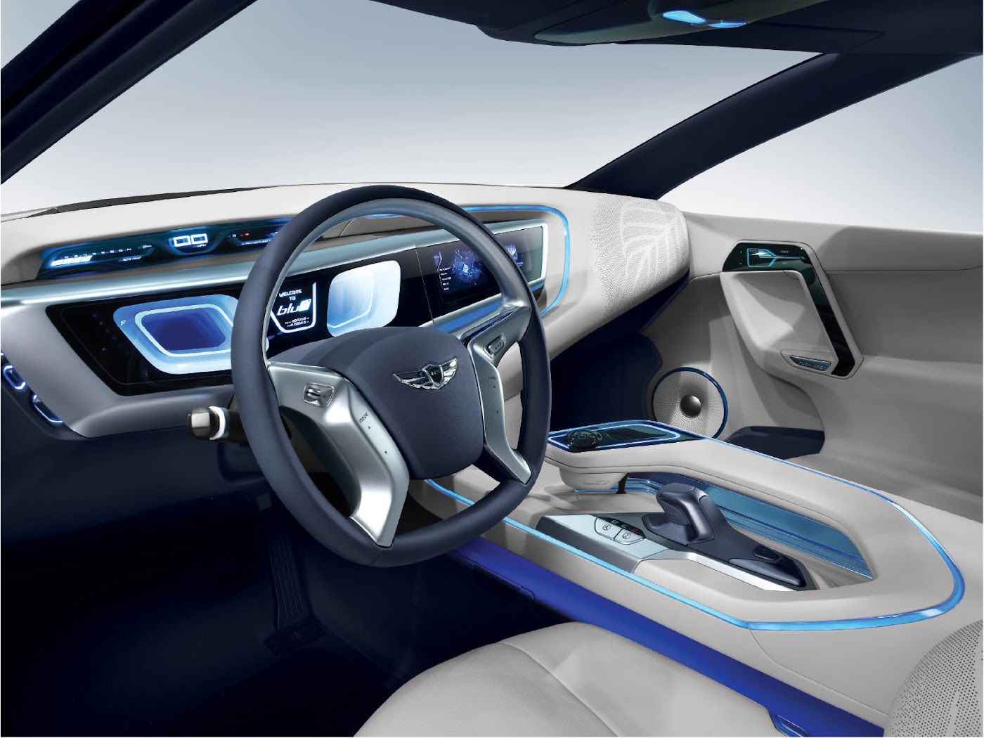 HYUNDAI BLUE2 LUXURY HYBRID CAR
