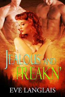 GIVEAWAY BLITZ TOUR – JEALOUS AND FREAKN' BY EVE LANGLAIS
