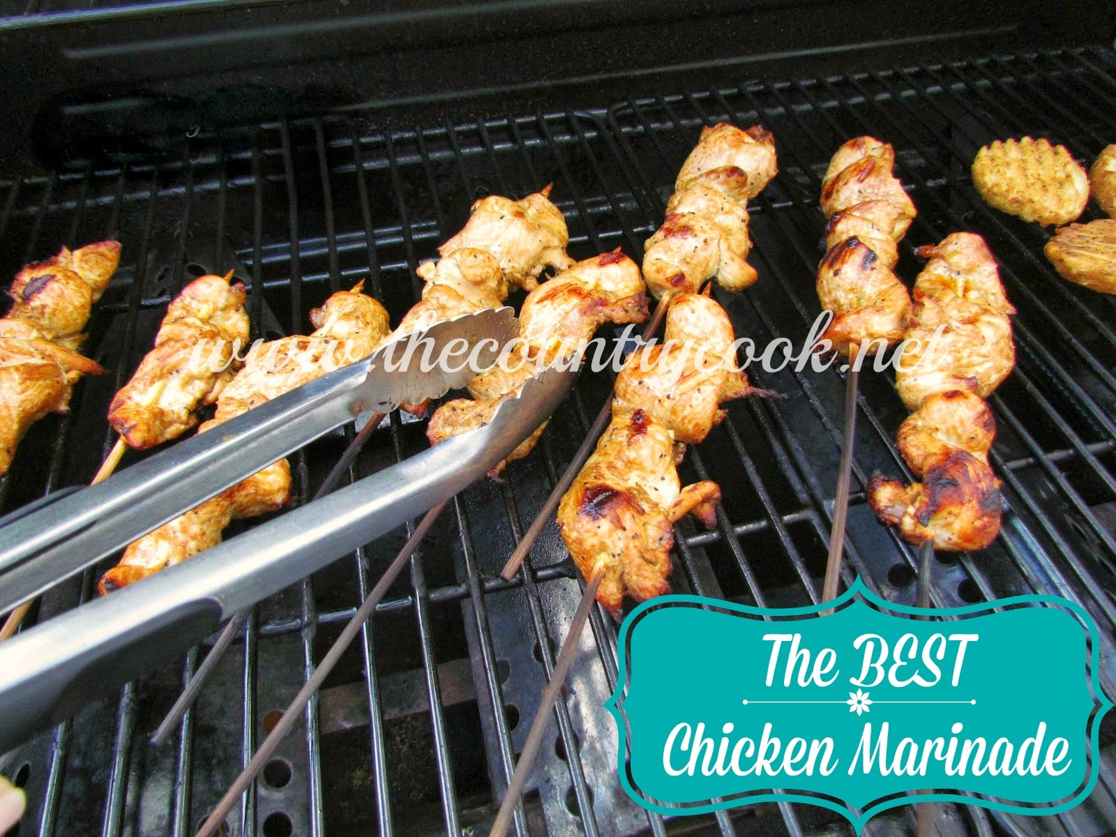 How long do i grill chicken kabobs - The Best Chicken Marinade