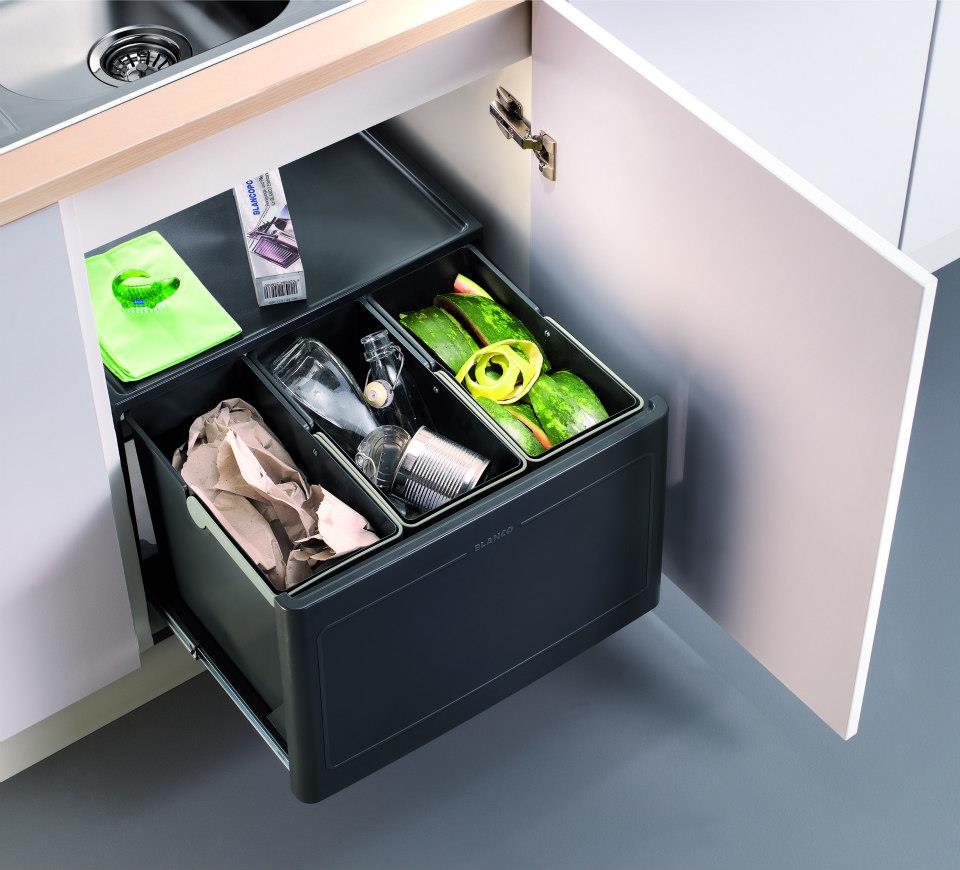 Ideas para guardar los residuos en la cocina - Ideas para muebles de cocina ...