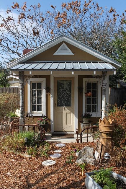 Garden Potting Sheds - cottage garden sheds