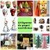 10 Paper Toys (figuras de papel) navideños y gratuitos para imprimir