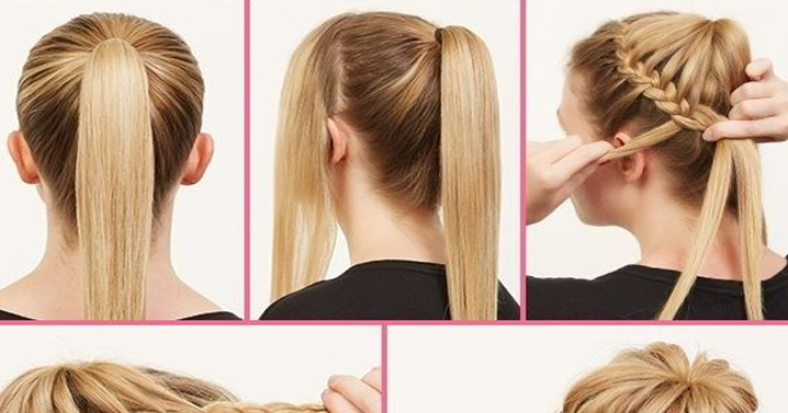 Ballerina Bun Updos For Long Hair Hairstyle Tutorial B Amp G Fashion