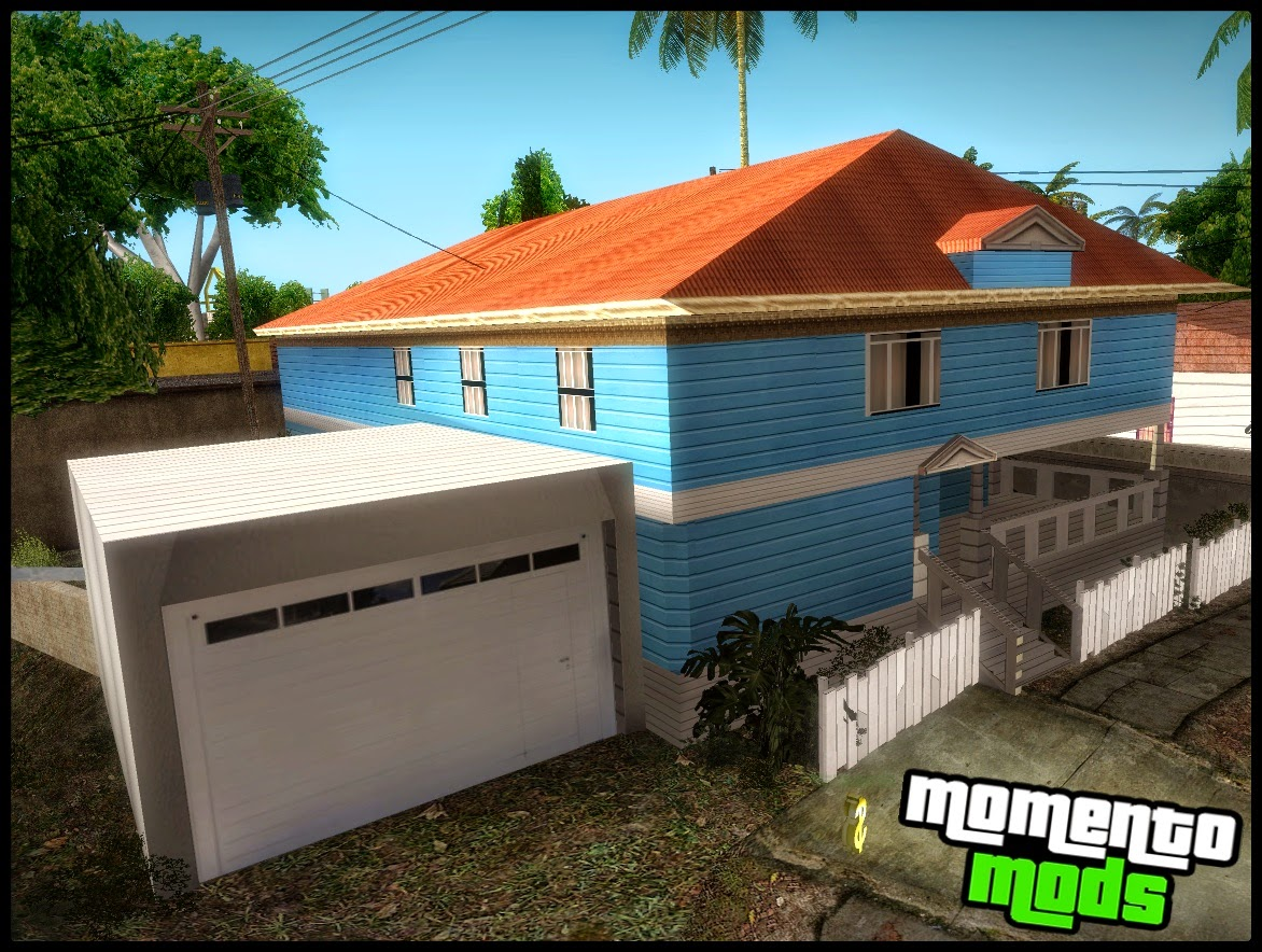 GTA SA - Nova Casa Do CJ