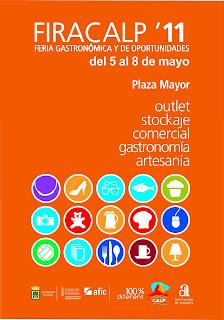 Feria Gastronómica y de Oportunidades FIRACALP´11 del 05.  08.de Mayo en Calpe