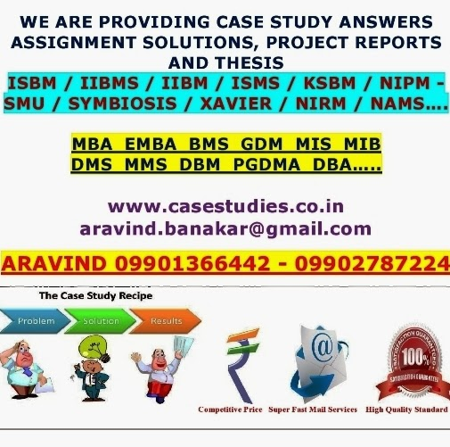 case study answers