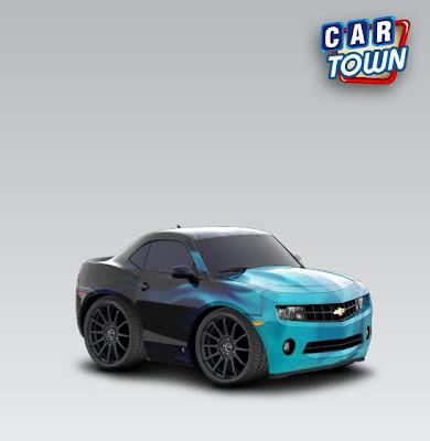 Camaro 2010 Car Town skin