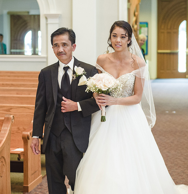 Catholic Wedding in Springfield, Virginia at St. Raymond of Penafort