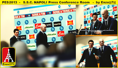 Napoli Press Conference Room