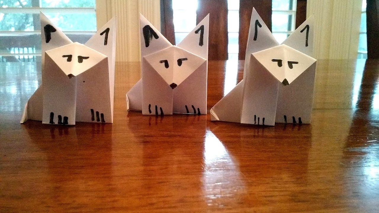Origami Warriors Origami Wolf Origami Choices