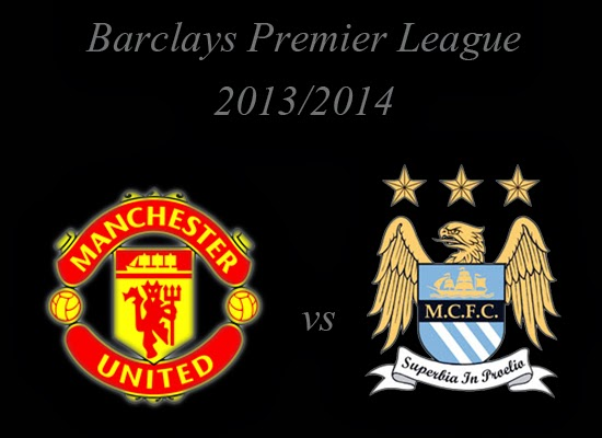 Manchester United vs Manchester City Barclays Premier League 2014