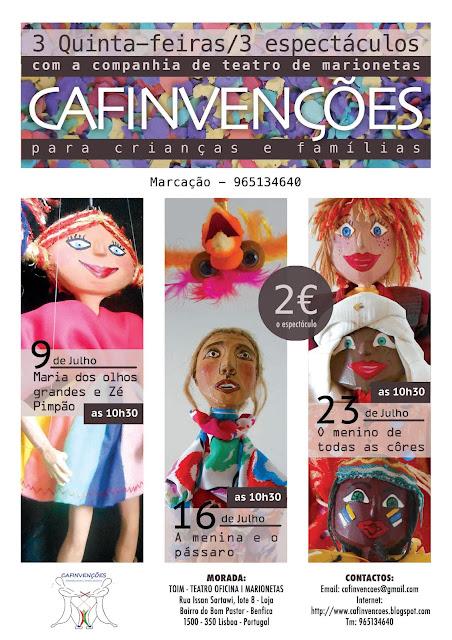 affiche spectacle marionnettes