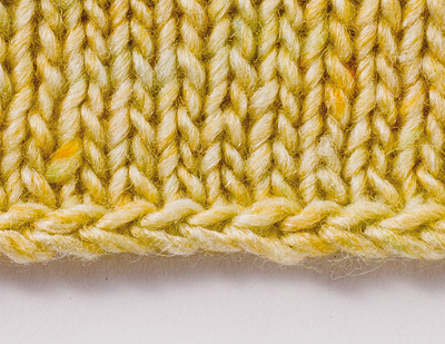 Loom Knitting Stitches Too Loose : LK601 Chain Cast On