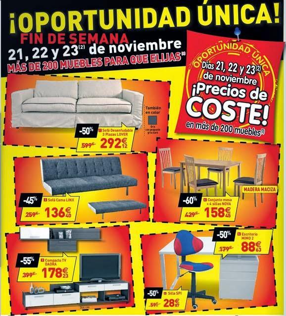 muebles de conforama 11-2014