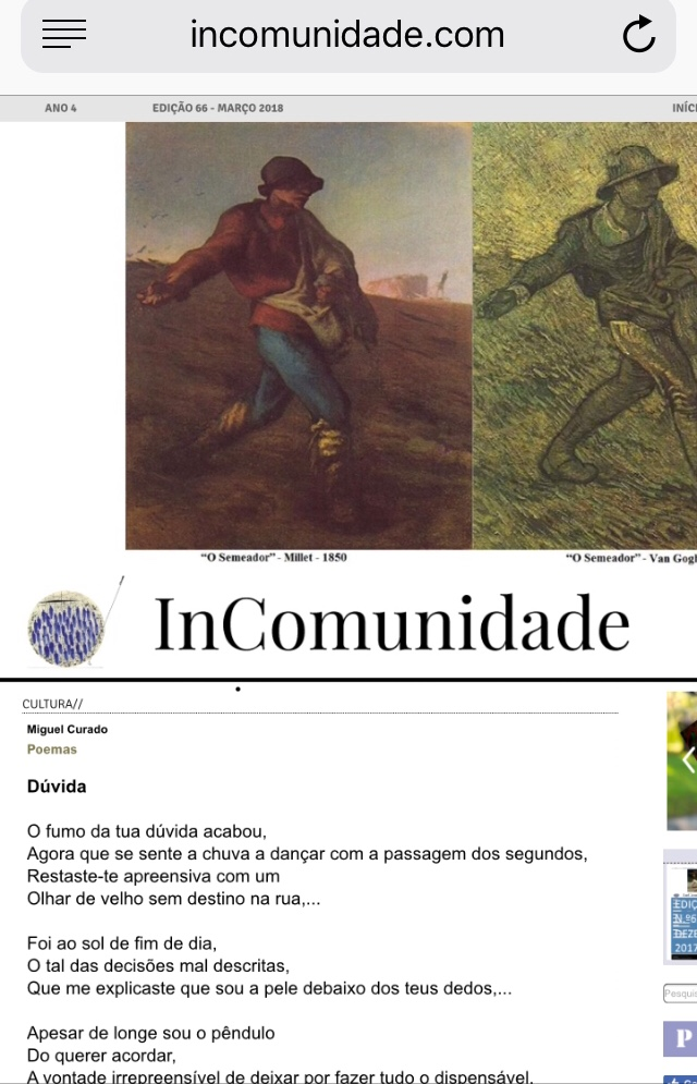 Inatingivel 2018 na revista Incomunidade