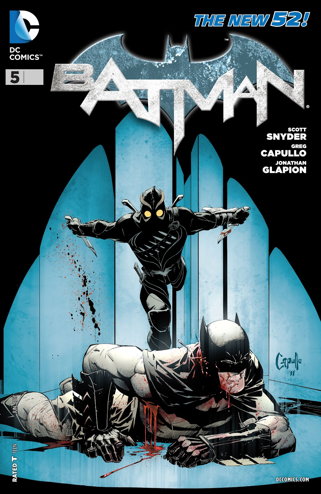 Batman (2011) Issue #5 #20 - English 23