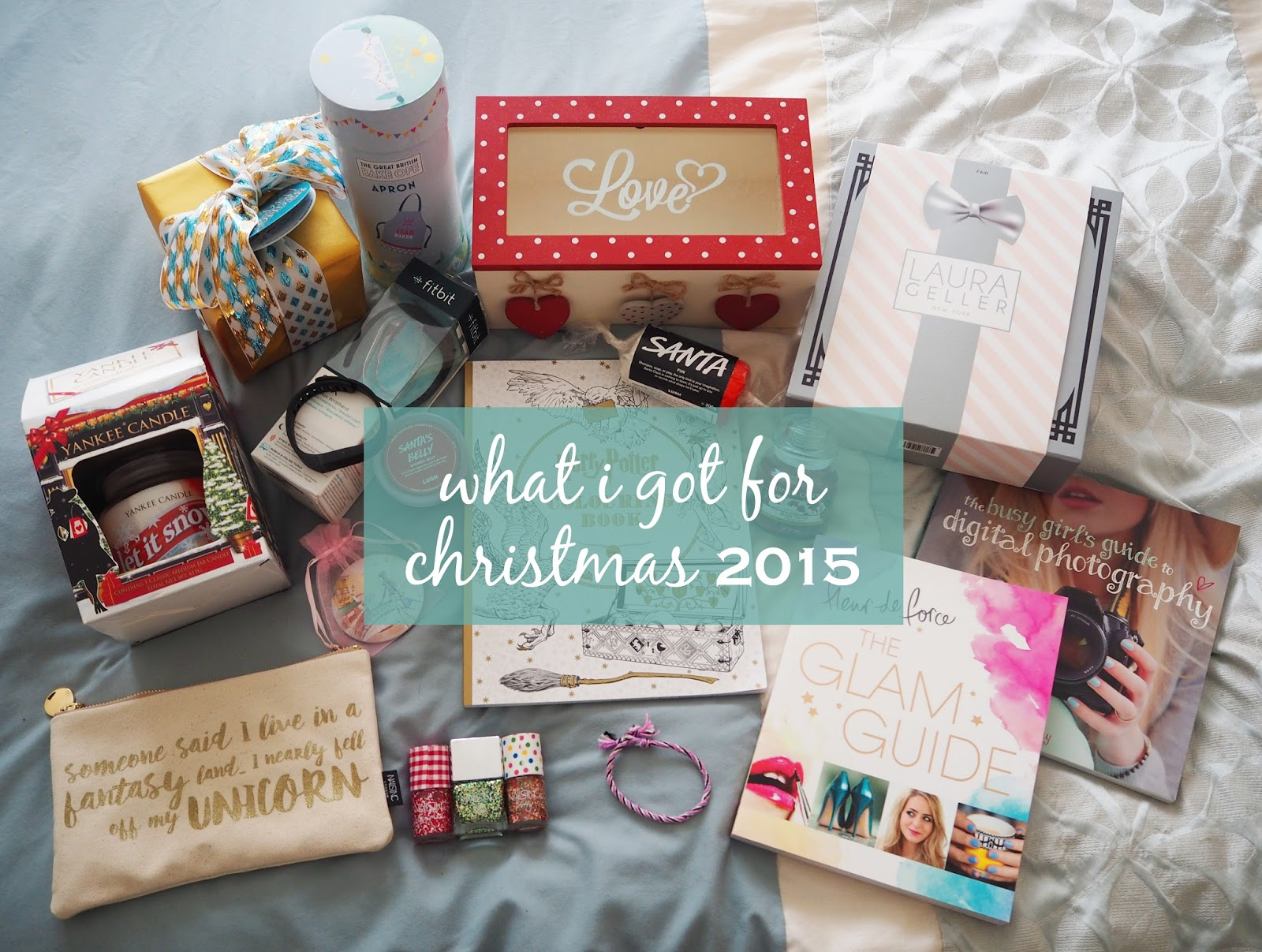 What I Got For Christmas 2015 | Katie Kirk Loves