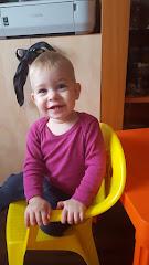 Kislányom 14 hónapos
