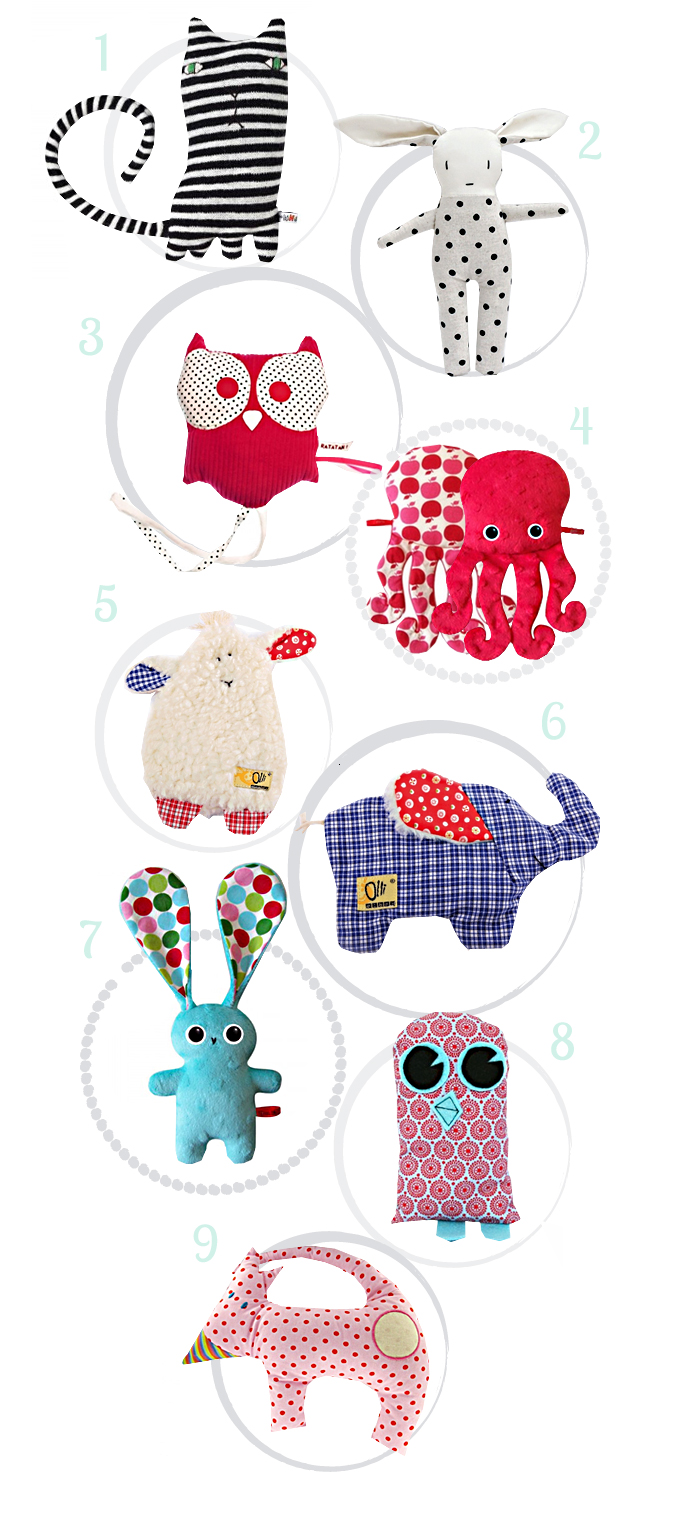 beautiful doudou for babies