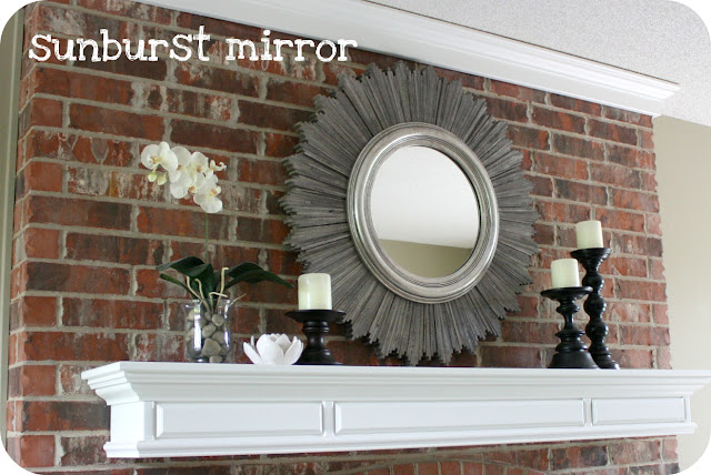 make your own sunburst mirror, sunburst mirror, diy sunburst mirror