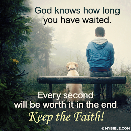 YES,   Keep the FAITH!!!