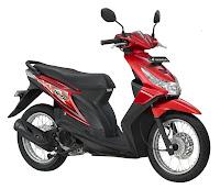 Honda Beat SW Merah