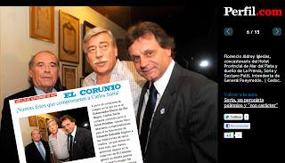 Foto de El Corunio robada por Perfil