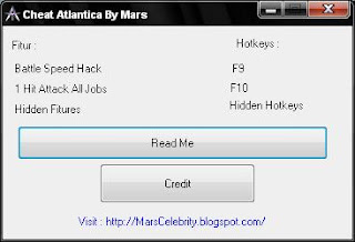 Cheat Atlantica September 2012 By Mars Celebrity