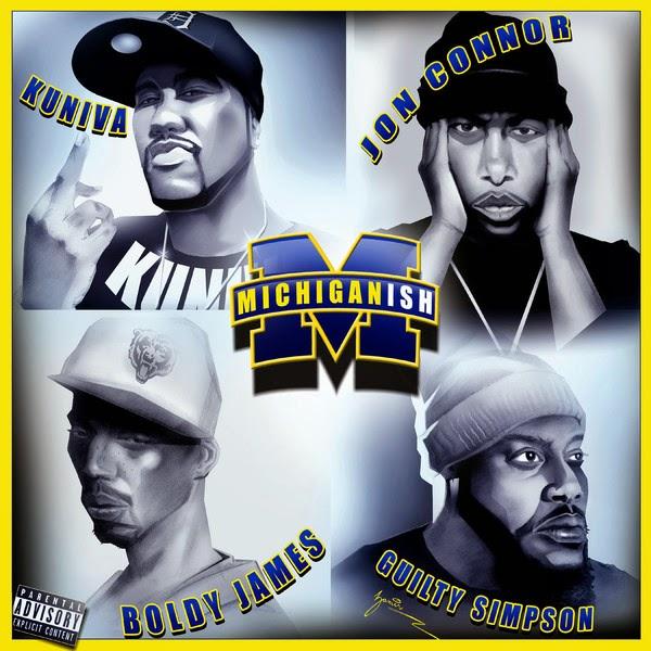 Kuniva - Michiganish (feat. Jon Conner, Boldy James & Guilty Simpson) - Single Cover