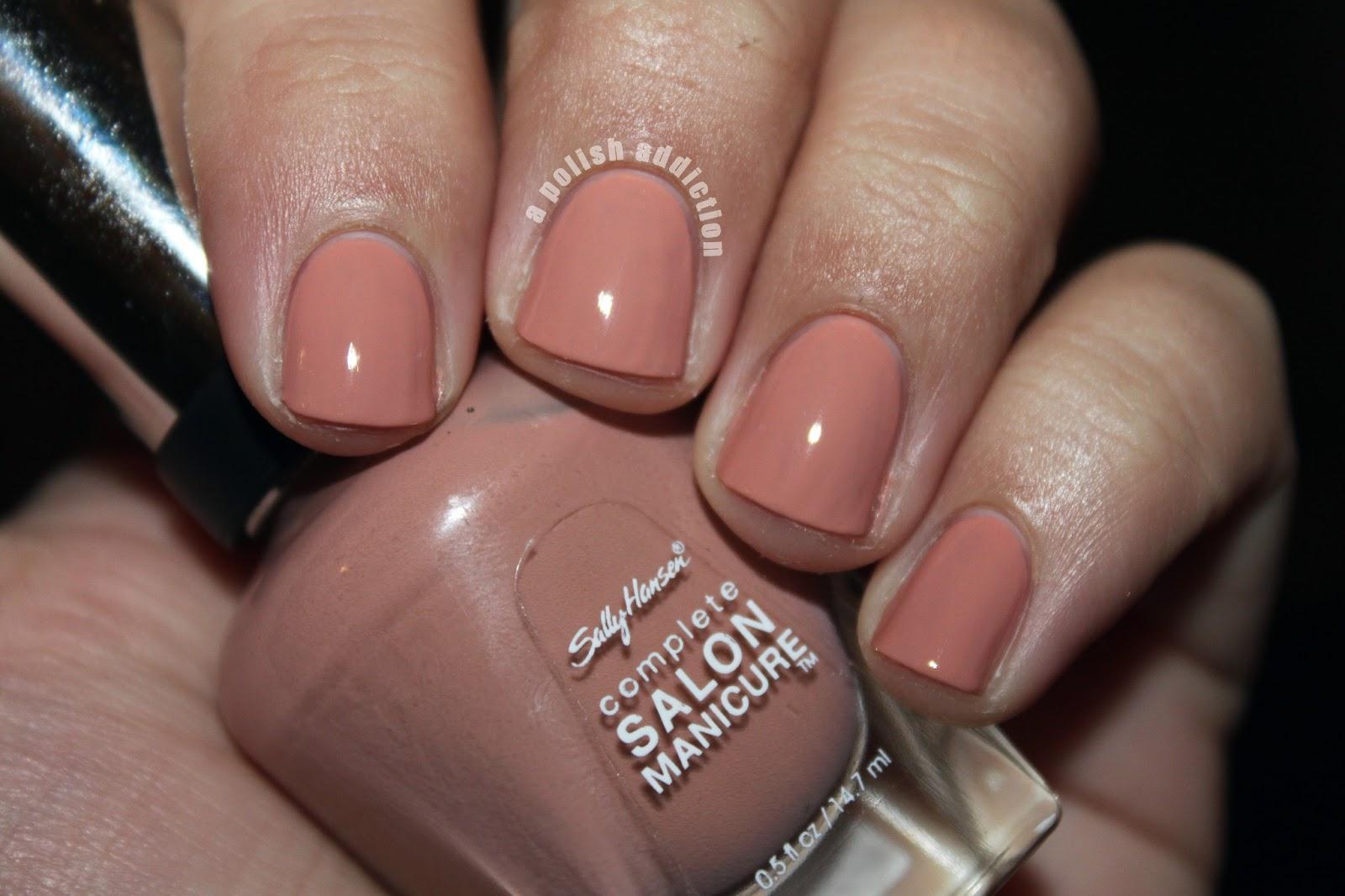 A polish addiction sally hansen complete salon manicure for Salon manicure