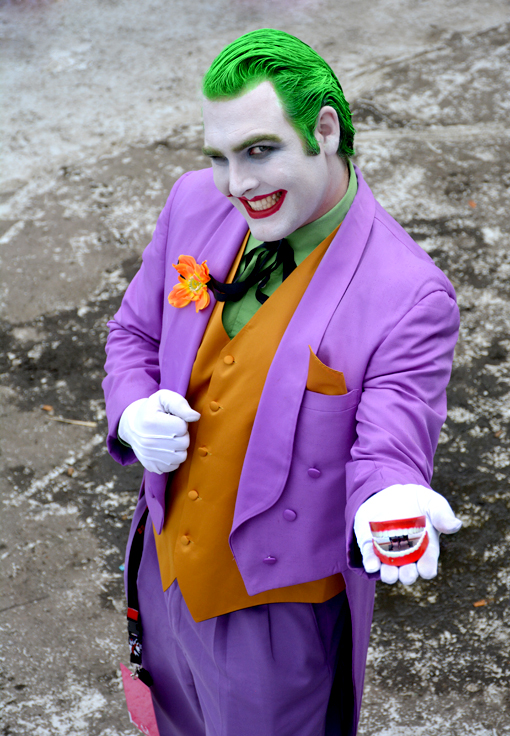 Reasons to Attend Dragon Con: Cosplay | The Joker
