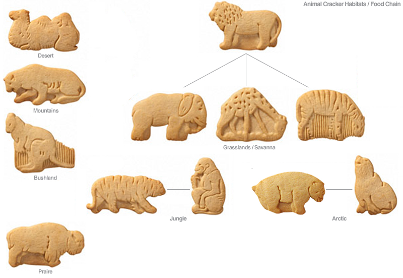 Animal Cracker Habitats / Food Chain