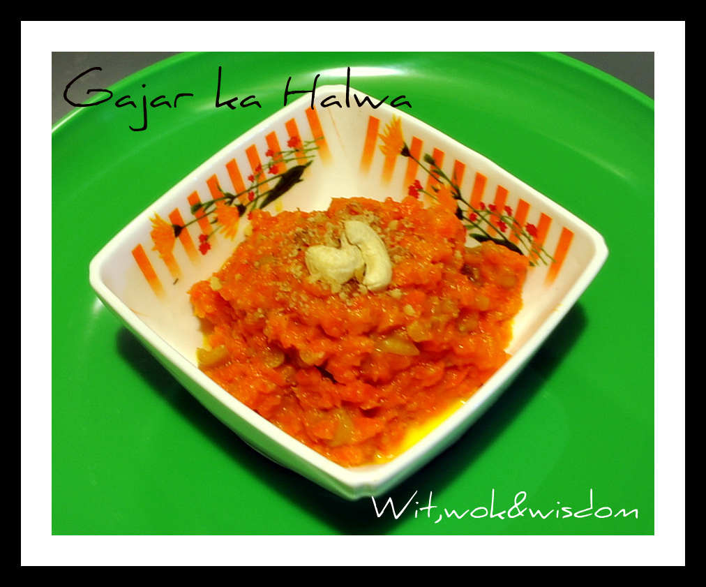 ... : Microwave Gajar ka Halwa (Indian Carrot Pudding) and Happy Diwali