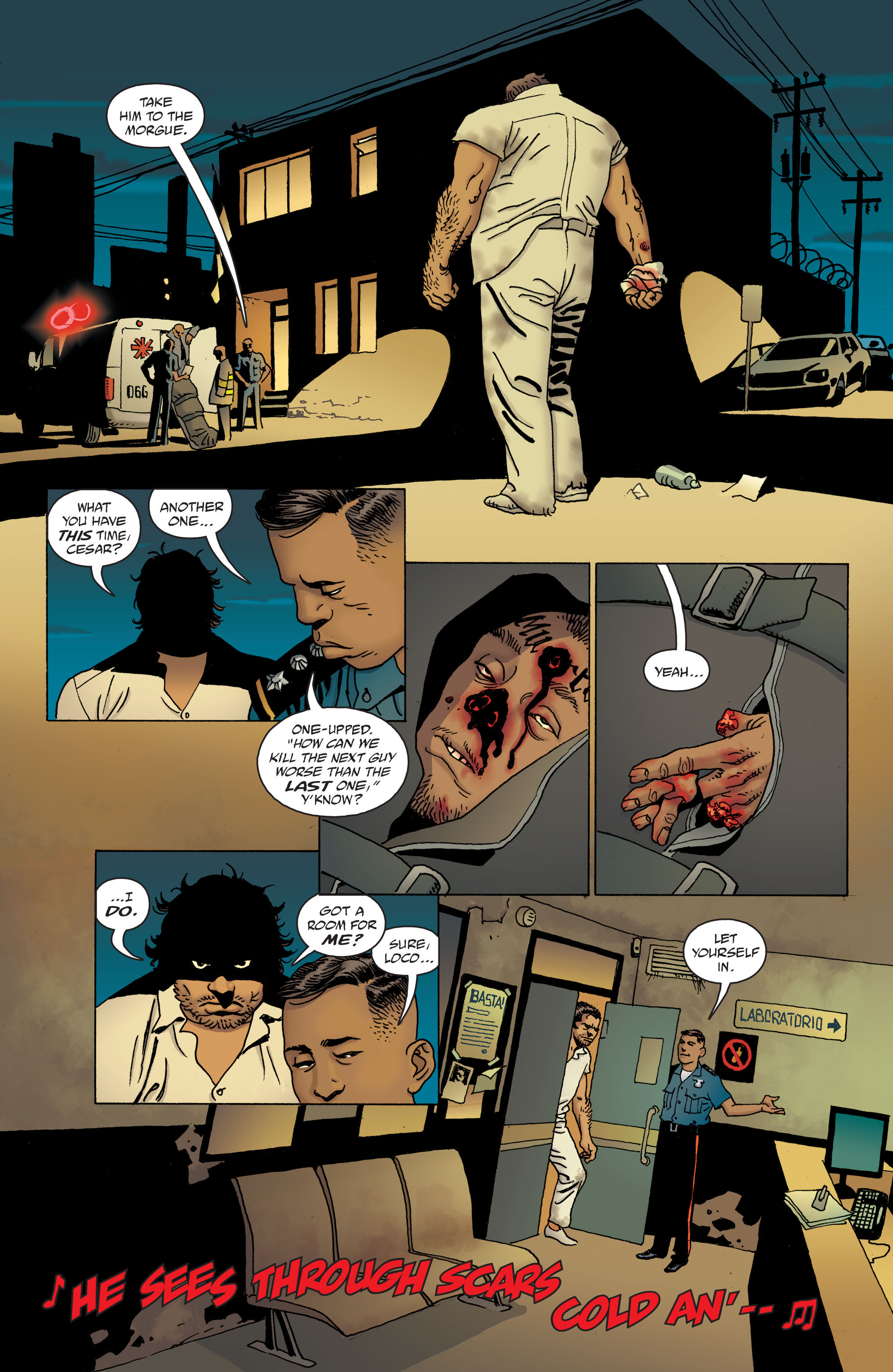 100 Bullets: Brother Lono Full Page 52