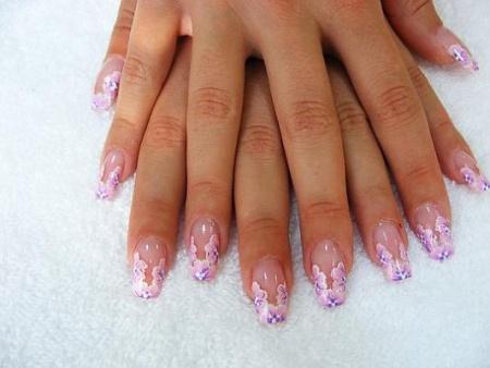 uñas descoradas uñas decoradas para las novias en el gran día de ...