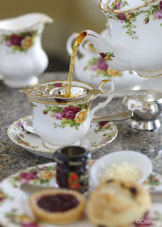 High tea at The Grand Floridian
