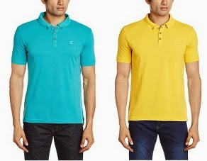 Freecultr Men's Cotton Blend Polo Shirt worth Rs.699 for Rs.279 Only @ Amazon