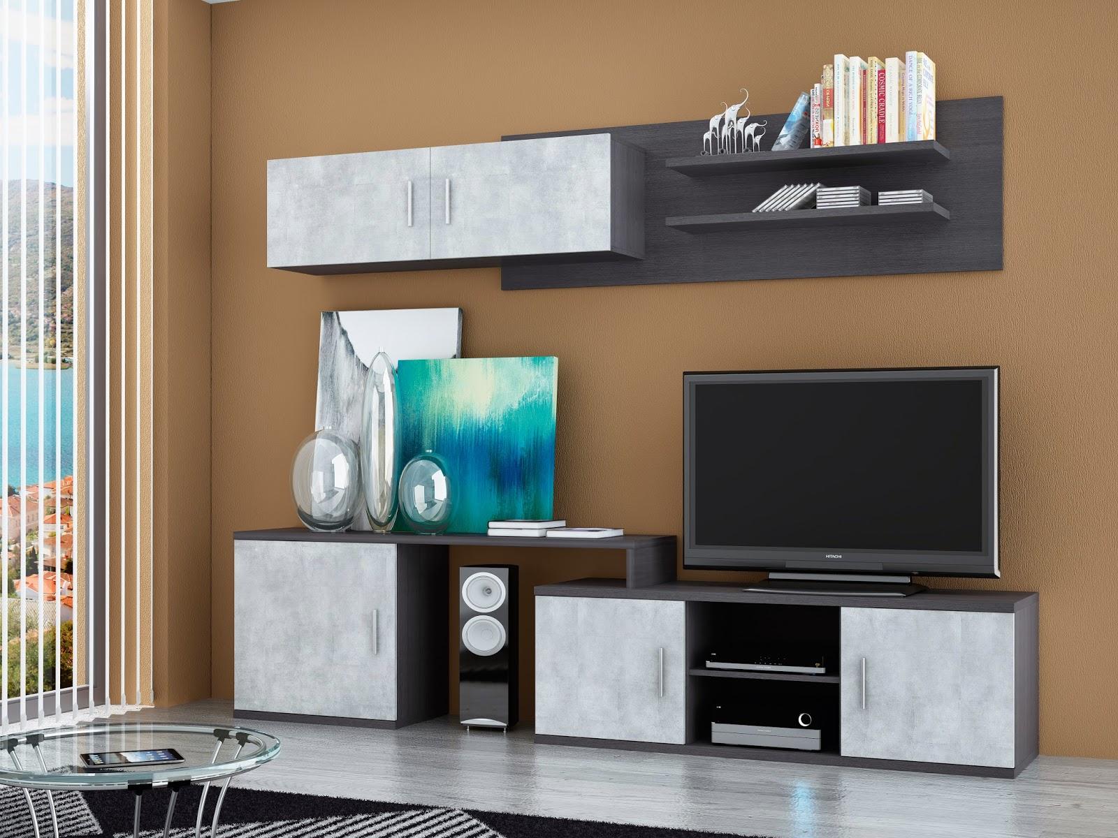 Tu tienda ahorro mueble de salon 240cm for Mueble salon 240 cm