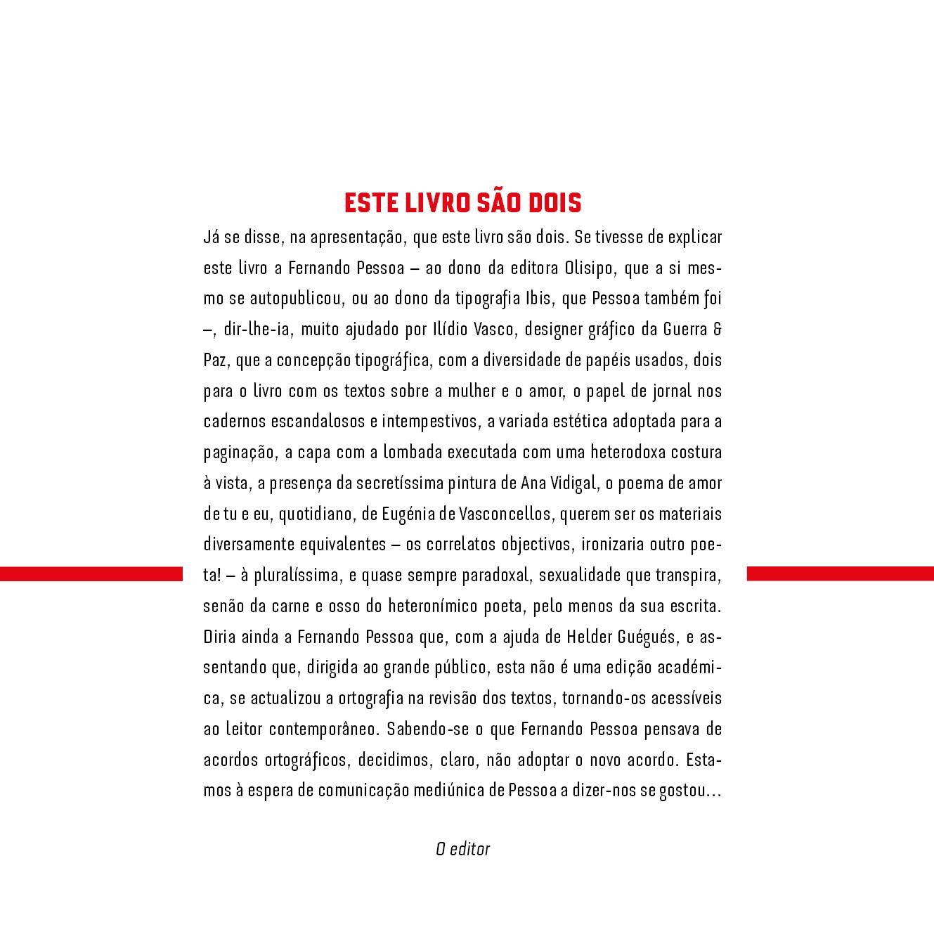 Favoritos D'Magia: «Minha Mulher, A Solidão», edição de luxo de Fernando Pessoa QP72