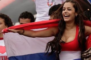 "Larissa ""La Novia de la Copa América 2011"""