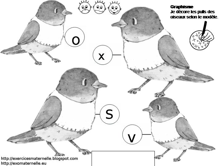 Amazing Jeux En Ligne Maternelle #4: Graphisme_pull_oiseau.png
