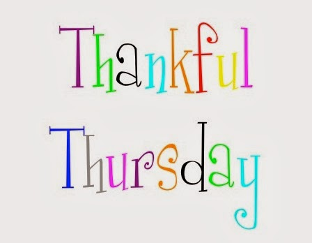 Thankful Thursday Blog Button!