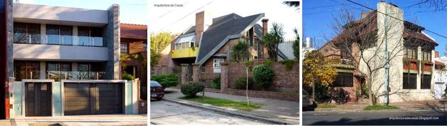 Casas residenciales contemporáneas en Villa Devoto, Ciudad de Buenos Aires