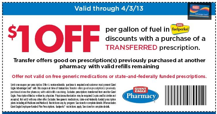 Giant eagle pharmacy coupon 2018