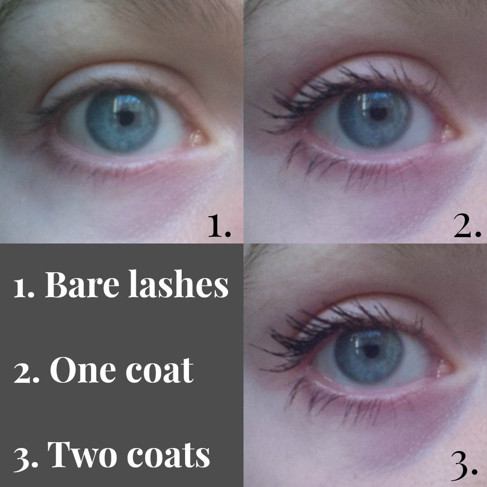 Too Faced Better Than Sex Mascara swatches