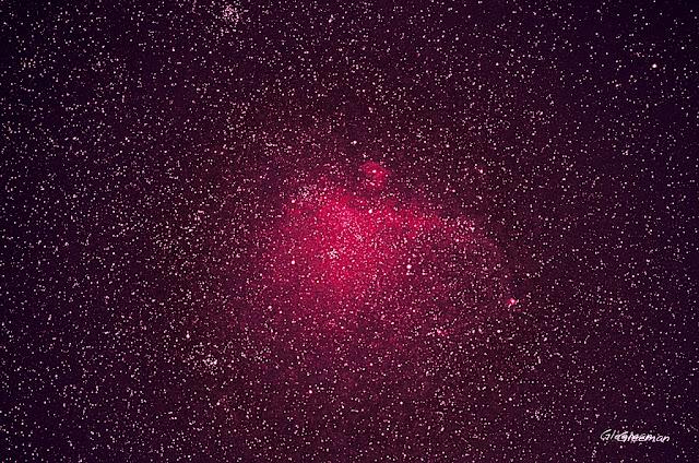 Pentax K5 + O-GPS1 w/DA*200 LPS-P2 Filter , 海鷗星雲 ISO4000 F2.8 120s Seagull Nebula - IC 2177
