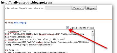 Cara mengganti Template di Blogspot Versi Terbaru